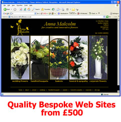 Bespoke Web Sites from �0 - click to visit this website example