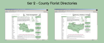 Tier 1 - County Florists and Florist Related Services Directory's